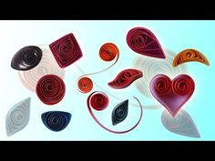 Basic Paper Quilling Shapes & Techniques for Beginners - 2015