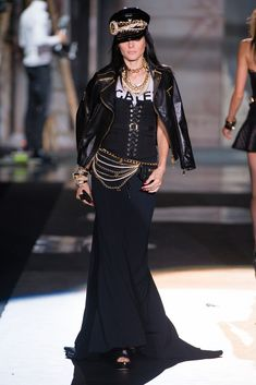 Dsquared2 Spring 2013 Ready-to-Wear Fashion Show - Jessica Stam