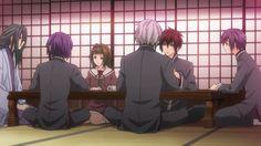 Hiiro no Kakera - ep 4 - Suguru, Mahiro, Tamaki, Yuuichi, Takuma and Shinji