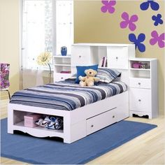 $672.40 Bundle-53 Pixel Twin Platform Bedroom Collection (3 Pieces) Size: Full