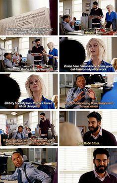 #iZombie - Liv, Ravi & Clive #Season2 #2x08. Ravi making GOT references at Clive through this episode was hilarious :')