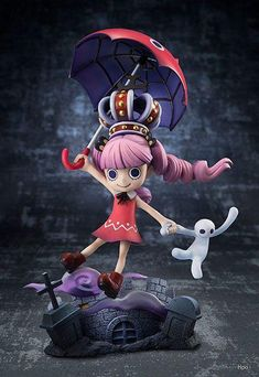 One Piece Ghost Princess Perona Childhood Statue