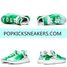 separation shoes db72a 96901 Pharrell x NMD Hu Trail (Green, Youth) Different from the previous new color