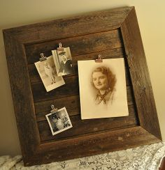 So Cool! I have the perfect stack of aged wood for this project!