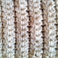 Spine stitch is a simple cable stitch that produces a look which resembles the spine, hence its name. The first row of the spine stitch involves combinations of C2Fs and C2Bs and the second row is purling the whole row.