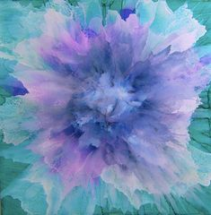 Show Your Bloomers Alcohol Ink Art Challenge - Alcohol Ink Art Ink In Water, Art Challenge, Ink Art, Painting, Ink Cards, Ink, Abstract, Beautiful Art, Ink Painting