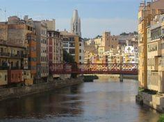 Eiffel Bridge. Girona, Catalonia, Spain