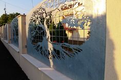 H&H Design - Tree of Life themed laser cut fence