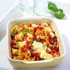 Tortellini uit de oven Recept | Weight Watchers België