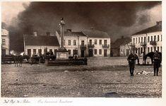 pl. Sikorskiego (Rynek), Zambrów - 1939 rok, stare zdjęcia