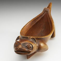Spirit Canoe in the Form of a Land Otter    Gitxsan, 1870-1900    The National Museum of the American Indian