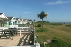 Luxury Dunster Beach Chalets. Used to love going on holiday here, must go there again soon. X