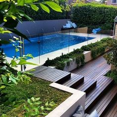 A pool could possibly be known as fast or slow, based on its physical layout. The pool is the previous word in luxury. If you're searching to continue to keep your pool or hot tub in prime condition, it's crucial… Continue Reading → Oberirdischer Pool, Swimming Pools Backyard, Swimming Pool Designs, Backyard Pool Landscaping, Backyard Pool Designs, Landscaping Ideas, Low Maintenance Garden Design, Moderne Pools, Pool Landscape Design