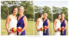 Photo by Tracy Rodriguez Photography (www.thrgallery.com) Keywords: Wedding, Maine Wedding, Outdoor Summer Wedding, Gay Wedding, Lesbian Wedding, Two Brides, Two Dresses, Newry, ME, Maine, Mountain House on Sunday River, Pink and Blue, Pure Beauty