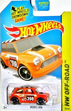 MORRIS MINI Hot Wheels 2015 HW OFF ROAD- Road Rally #80/250 Orange #HotWheels #Austin