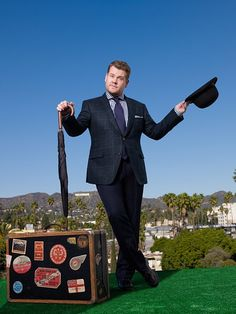 You and 3 friends will enjoy a live taping of hit late-late-night show and meet celebrated 2016 Tony Awards host himself, James Corden! Late Night Show, The Late Late Show, Famous Men, Famous Celebrities, Vip Tickets, Photo Archive, This Man, Still Image, Cute Guys