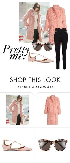 """""""Pretty me"""" by butterflykiss0078 ❤ liked on Polyvore featuring WithChic, Preen, Aquazzura and Gentle Monster"""