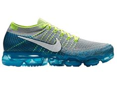 huge selection of 4c69d da723 Nike Mens Air Vapormax Flyknit Wolf GreyWhiteChlorine Blue 105 M US     You  can find out more details at the link of the image. (This is an affiliate  link) ...