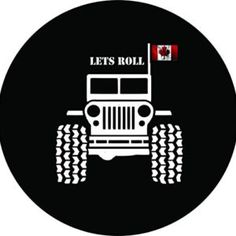 Lets Roll Canada Jeep Tire Cover Wrangler