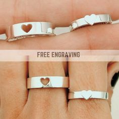 Hey, I found this really awesome Etsy listing at https://www.etsy.com/listing/262602996/promise-rings-couples-ring-promise-rings
