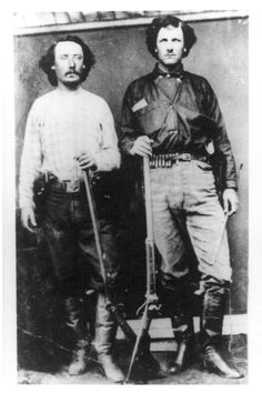 William Tilghman & James B. Elder, Dodge City, Kansas. Date: 1872