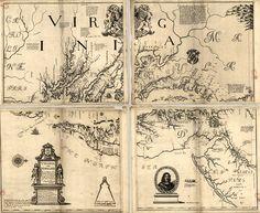 Virginia and Maryland, 1673
