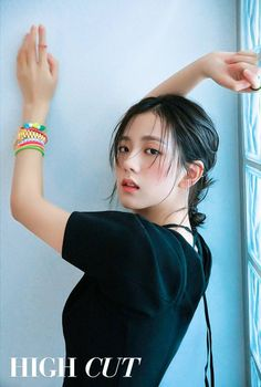 Blackpink Jisoo - High Cut (Vol. Blackpink Jisoo, Kpop Girl Groups, Korean Girl Groups, Kpop Girls, Yg Entertainment, Mamamoo, Forever Young, Blackpink Members, Black Pink Kpop
