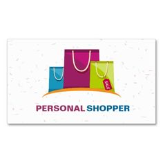 Fashion Consultant Personal Shopper Business Card. Make your own business card with this great design. All you need is to add your info to this template. Click the image to try it out!