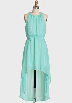 bridesmaid dress?    Mint Mist Asymmetrical Dress 44.99 at