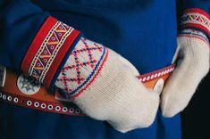 Skolt Sámi mittens - Kolttasaamelaisen käsineet | Sami Duodji ry