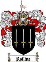$8.99 Pay for Rollins Family Crest / Rollins Coat of Arms