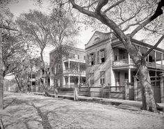 "Charleston, South Carolina, circa 1902. ""Residence on Hasell Street."""