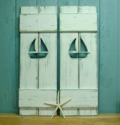 Sailboat Shutters