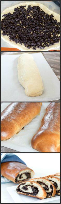 poppyseed rolls #poppyseedrolls #makaviyrulet #baking #russian recipes