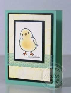 Stampin Up Honeycomb Happiness Easter chick card free Sale-a-bration saleabration SAB