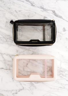 The Daily Edited Transparent Cosmetic Case vs. Anya Hindmarch Inflight Cosmetic Case The Daily Edited Transparent Cosmetic Case vs. Makeup Pouch, Makeup Case, Toiletry Bag, Tote Bag, It Cosmetics, Dior Lipstick, Makeup Travel Case, Eye Makeup Tips, Makeup Geek