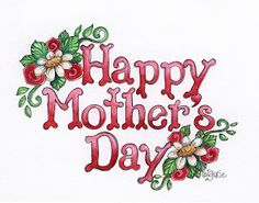 Happy Mothers day to my girls. Happy Mom Day, Happy Mothers Day Images, Happy Mother Day Quotes, Mother Day Wishes, Mother's Day Clip Art, Happy Birthday Greetings Friends, Father's Day Celebration, The Joys Of Motherhood, Scrapbook Titles