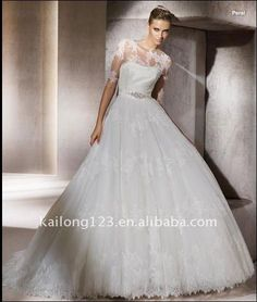 Google Image Result for http://img.alibaba.com/wsphoto/v0/477962906/Romantic-ball-gown-strapless-with-jacket-lace-bridal-dress.jpg