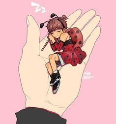 Taehyung the little lady bug fairy