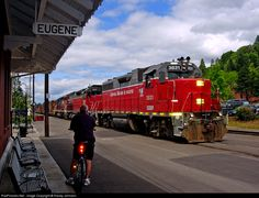 RailPictures.Net Photo: CORP 3831 Central Oregon & Pacific Railroad EMD GP38 at Eugene, Oregon by Randy Johnson