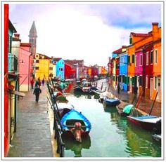 nurses seminar at sea cruises images Burano, Italy