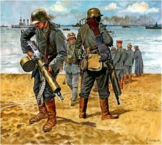 German reinforcments disembark on the beaches of New Jersey. The Alliance bolsters their ranks with Sturmtruppen to bring a new dimension to their tactics. In return Prussia receives Alliance forces to bring an American dynamic to the fighting in Europe.