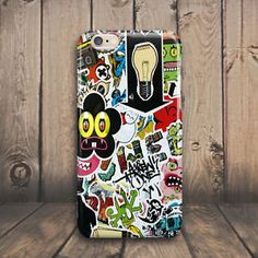 Cool Logo Sticker Bomb Hard Case Cover for iPhone 4 4s 5 5s 5c SE 6 6s plus iPod #Cover #Shockproof #Skin #Slim #Protector #Protective #Luxury #Phone #case #cover #Cheap #Best #Accessories #plus #Cell #Mobile #Hard #Pattern #Rubber #Custom #Ultra #Thin #s