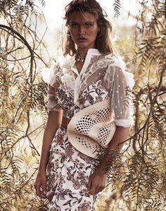 chloe lecareux by steven chee for grazia australia! | visual optimism; fashion editorials, shows, campaigns & more!