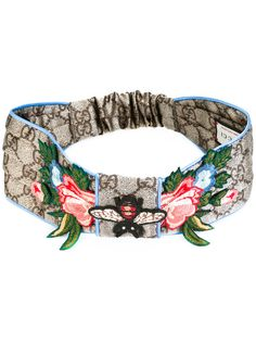 36c4066581e GUCCI Gg Supreme Embroidered Headband.  gucci  headband