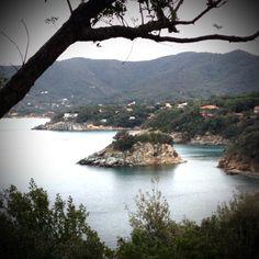 Scoglio della Paolina e Procchio, Elba island. Tuscany
