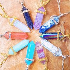 crystals x crystals x crystals!! which would you wear?✨find these beauties only at www.vivamacity.com