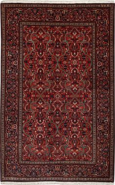 "Kashan antique Salmon Allover Carpet CS-M937857202 X 129 Cm. (6'7"" X 4'3"" Ft.) - Carpetsanta"