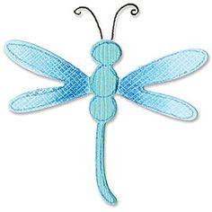 Sizzix Sizzlits 'Dragonfly 3' Singles Die