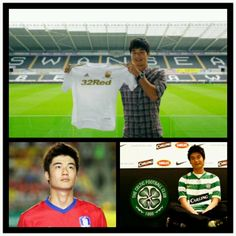 Ki Sung Yeung. From Seoul FC to Celtic FC and now Swansea City! And as a captain he had brought South Korea for winning  Bronze medal at Olympiade 2012. New star just born. Love!
